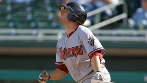 A.J. Pollock led the Southern League in hits and runs scored last year.
