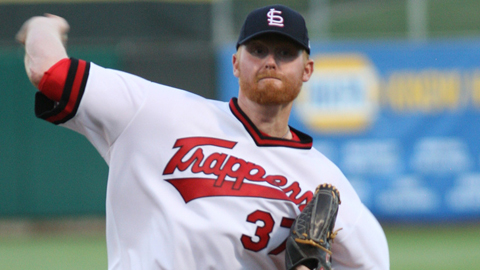 Barry Enright was 8-6 with a 5.87 ERA in Reno before the July 24 trade.